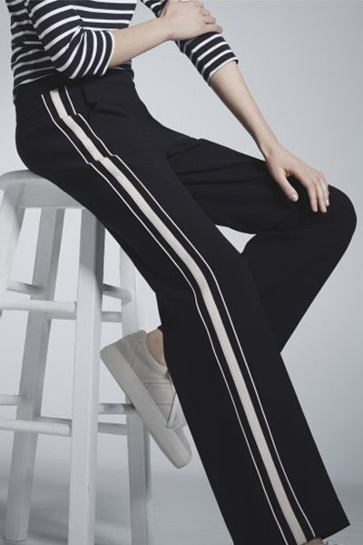 Last week I got asked this question – what trousers suit curvy girls?