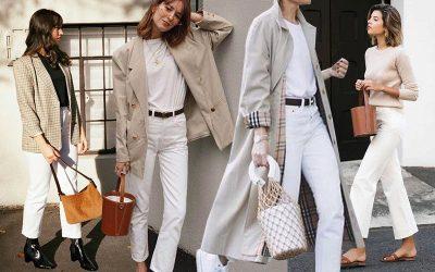 How to rock wearing White Denim