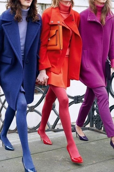 New colourful trends
