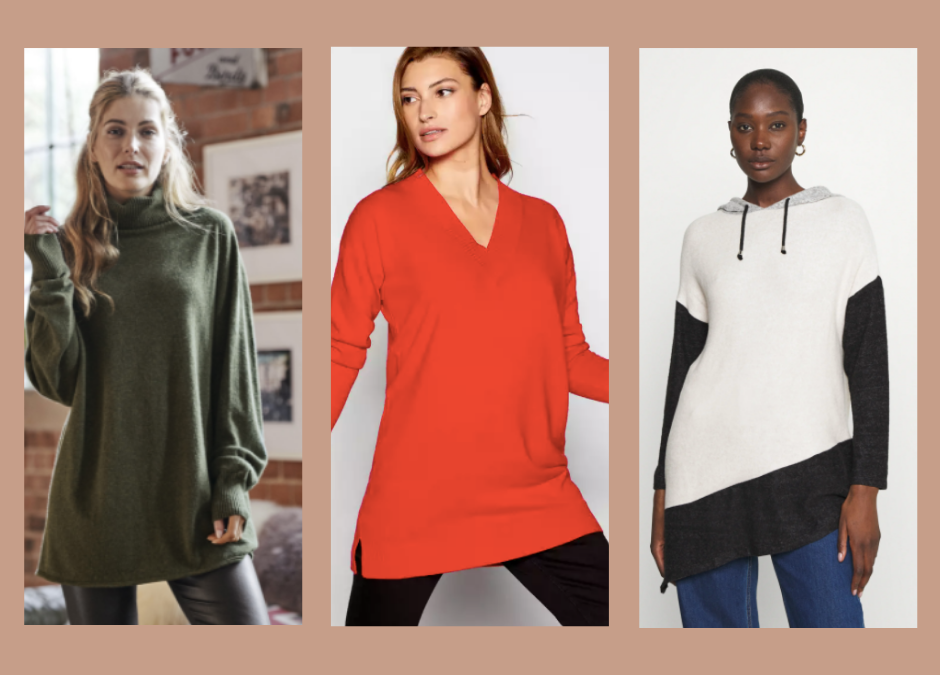 Jumpers for women with a tummy!